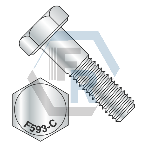 14 20x34 Hex Cap Scr 18 8 Stainless Steel