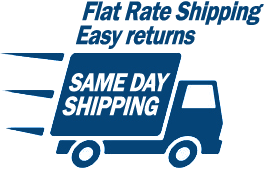 Flat Rate Shiping - Easy Returns - Same Day Shipping